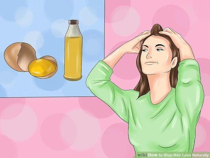 راههای سنتی رفع ریزش مو