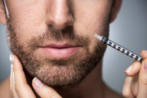 رایج ترین مکان های تزریق بوتاکس در مردان